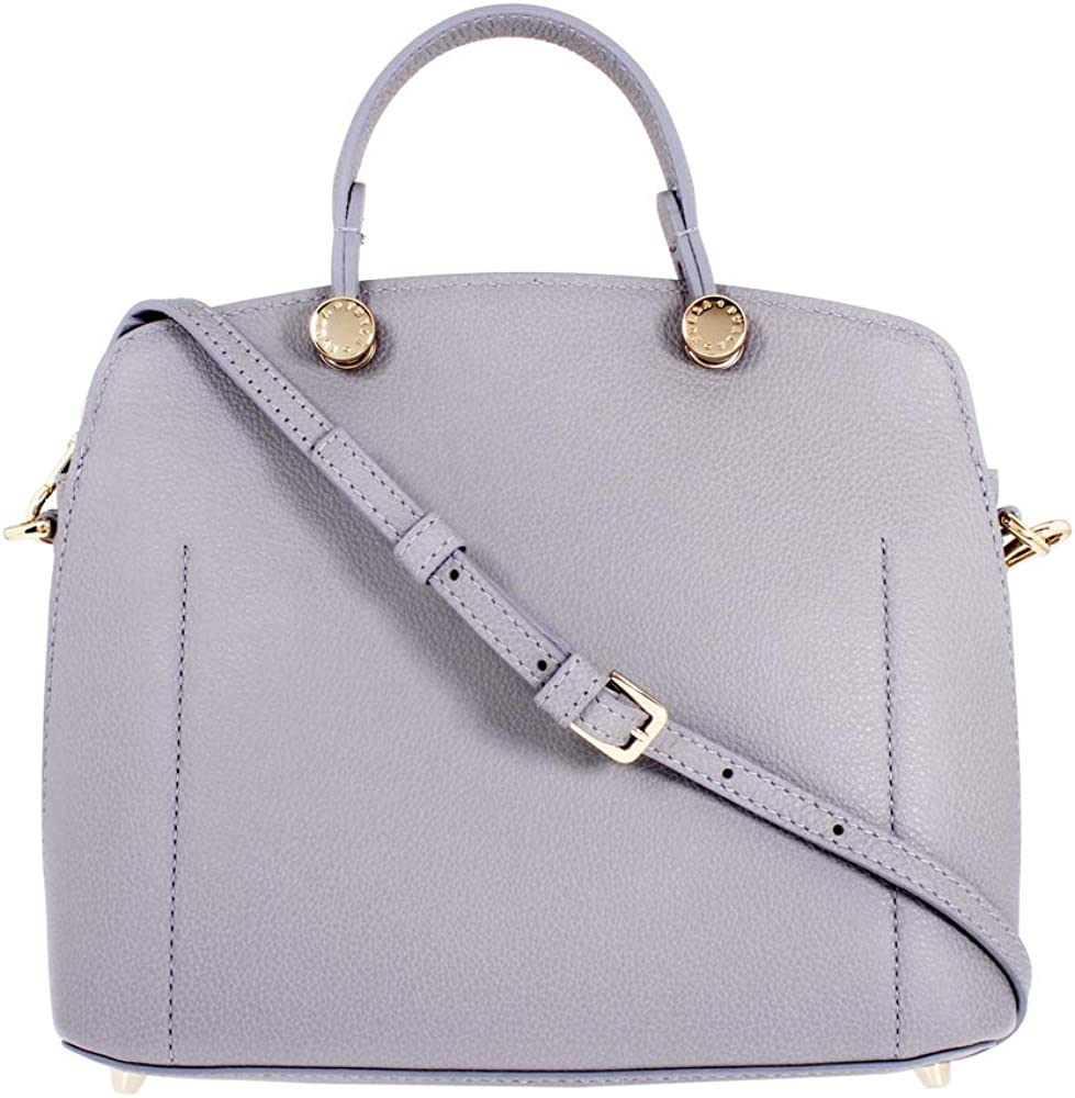 Furla My Piper Ladies Small Gray Onice Leather Shoulder Bag 977729