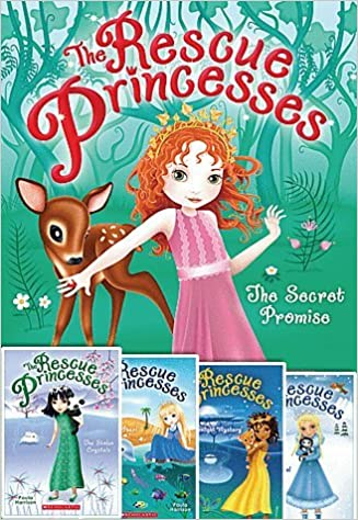 The Rescue Princesses 5 Book Set Includes #1: The Secret Promise #2: The Wishing Pearl #3: The Moonlight Mystery #4: The Stolen Crystals #5: The Snow Jewel
