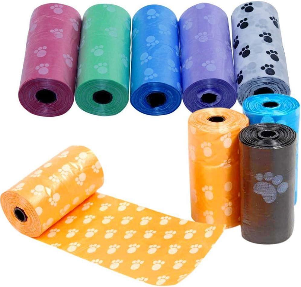 Newin Star 5 Rolls Dog Poop Biodegradable Bolsa de Recarga Rolls a ...