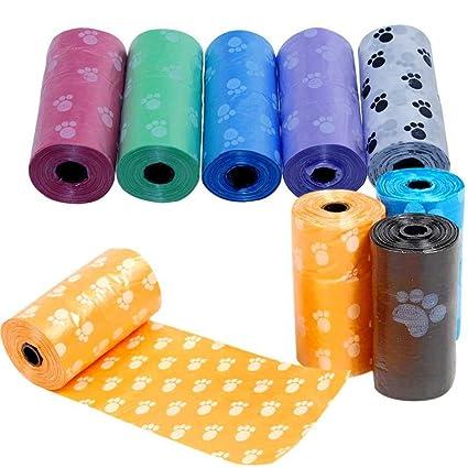 Yililay 5 Rolls Dog Poop Biodegradable Bolsa de la camada de ...