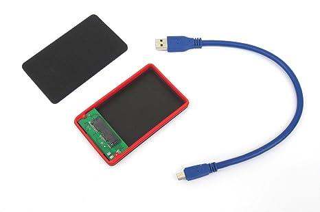 Toshiba Externo de 1,8 Pulgadas Micro sata ssd HDD USB 3.0 Caso ...
