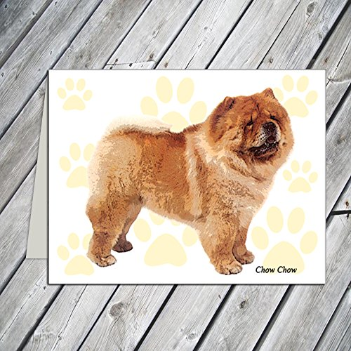 Chow Note - Chow Chow Note Cards