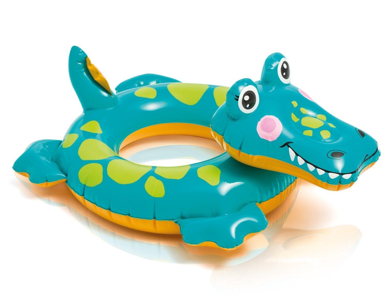 Baño Animal Hinchable flotador (para absoluten baño Diversión/cocodrilo/ cocodrilo/cocodrilo aprox. 72 X 66 cm diversión de baño para niños/de la ideal baño ...