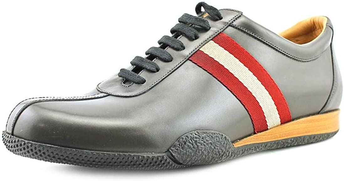 Aburrir ceja convergencia  Bally Frenz Mens Gray Leather Sneakers Shoes Size UK 12: Amazon.co.uk: Shoes  & Bags