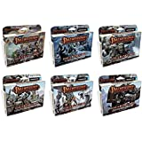 BUNDLE of All 6 Pathfinder Adventure Card Game Rise of the Runelords Expansion Decks