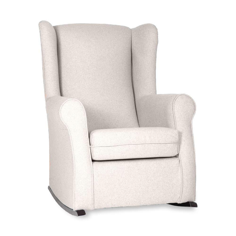 HOGAR TAPIZADO BALSA sillón orejero Noa Crudo: Amazon.es: Hogar