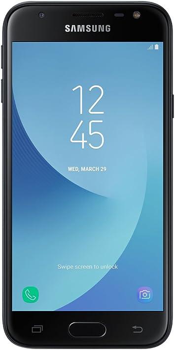 Samsung J330 Galaxy J3 (2017) 4G 16GB Dual-SIM Black EU- Versión Extranjera: Amazon.es: Electrónica