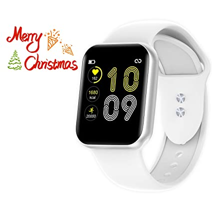 Smart Watch for Android and iOS Phones, Fitness Tracker with Heart Rate Monitor, Activity Tracker, Step Counter,Sleep Monitor, Pedometer,Calorie ...