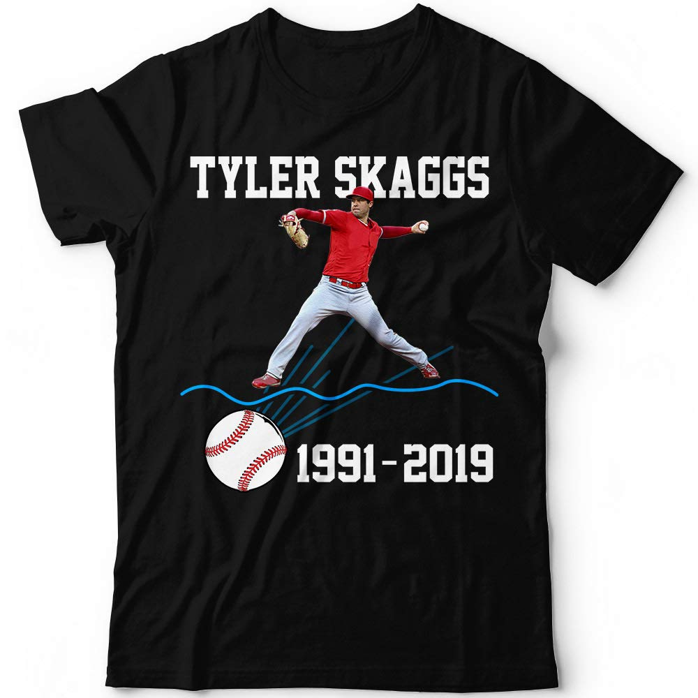 Tyler Rest 1991 2019 Angels Pit Baseball Go Get It Out Customized Handmade Tshirt Tank Top
