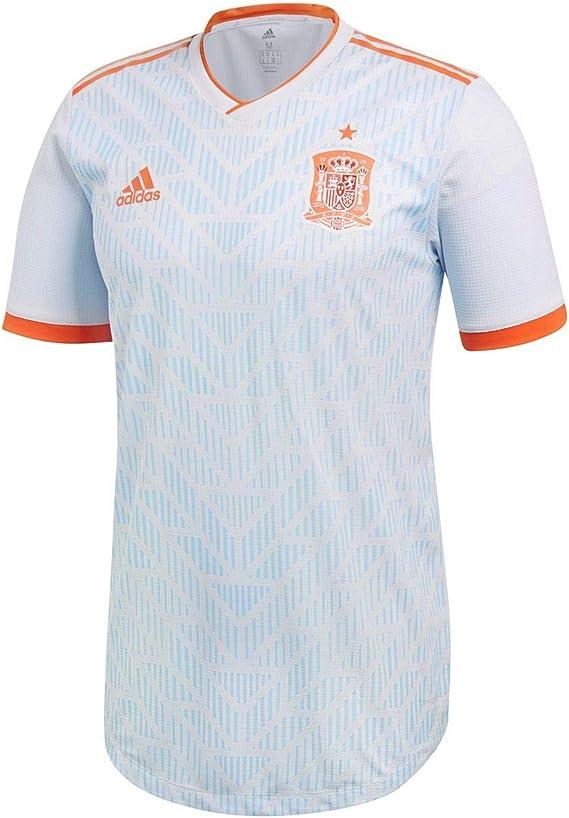 adidas España Authentic Camiseta, Hombre, BR2687, Halblue/Brired, XXXL: Amazon.es: Ropa y accesorios