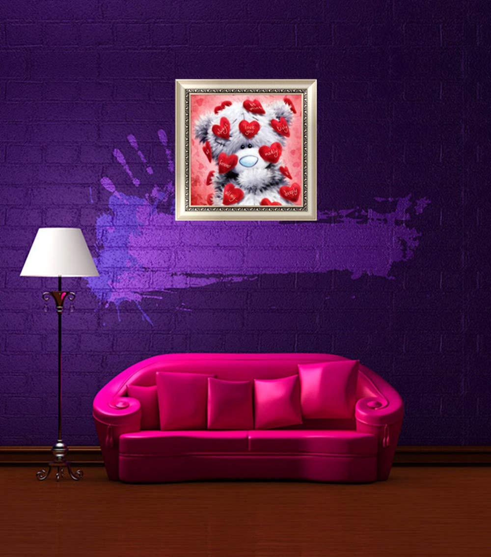per adulti e bambini decorazione per salotto Kit per pittura a mosaico 5D fai da te con strass per pittura a punto croce