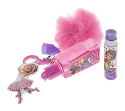 Amazon.com: Disney Fancy Nancy - Llavero de pelota de pelo ...
