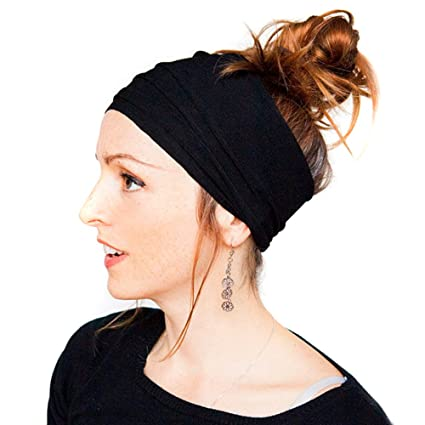 Amazon.com  Newest trent Womens Fashion Pleated Nonslip Headband ... b9e504ecb6