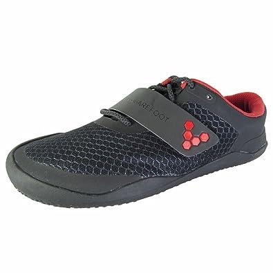 Vivobarefoot Mens Motus Lace Up Sport Shoes BlackRed 49 EU15
