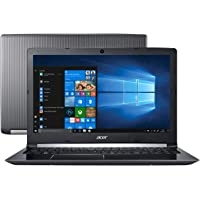 "Notebook Acer Aspire 5, A515-51-51UX, Intel core i5 7200U, 8GB RAM, HD 1TB 32, 32, tela 15,6"", Windows 10"
