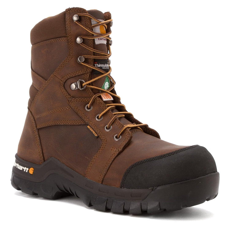 """Carhartt Men's 8"""" Rugged Flex Composite Toe Work Boot"""