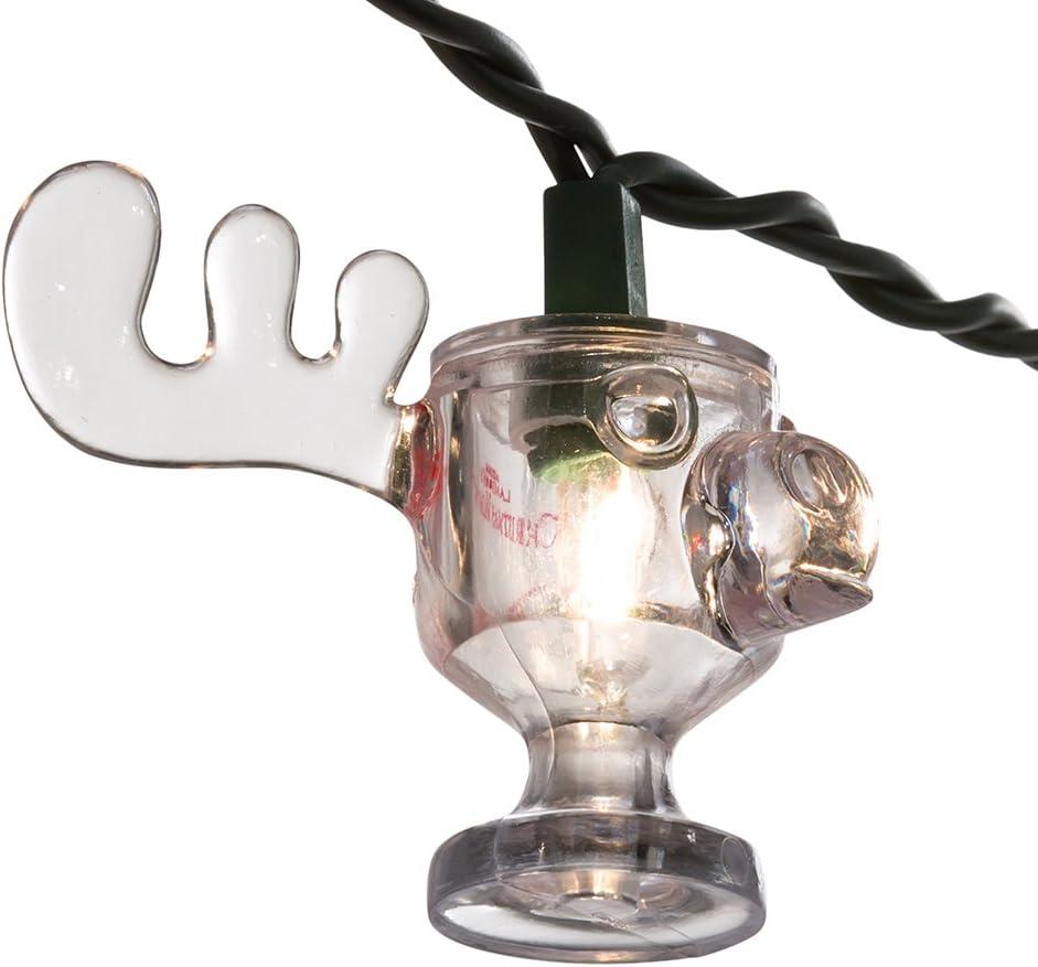 National Lampoon's Christmas Vacation 10-Light Wally World Moose Mug Light Set