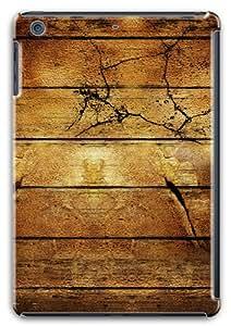 Yellow wood Polycarbonate Hard Case Cover for Apple iPad Mini with Retina Display / iPad Mini Retina/ iPad Mini 2
