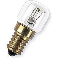 OSRAM Horno Bombilla Incandescente, E14, 15 watts, Trasparente