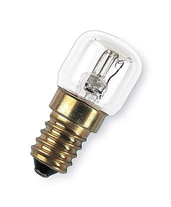 OSRAM Horno Bombilla Incandescente, E14, 15 watts, Trasparente, 1 ...