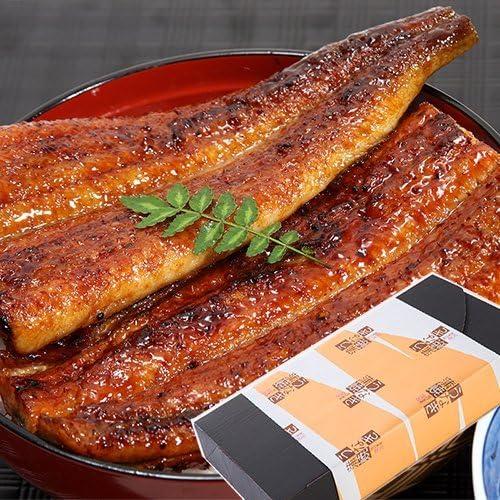 川口水産 国産うなぎ かば焼き たれ・山椒付き 3種組み合わせセット