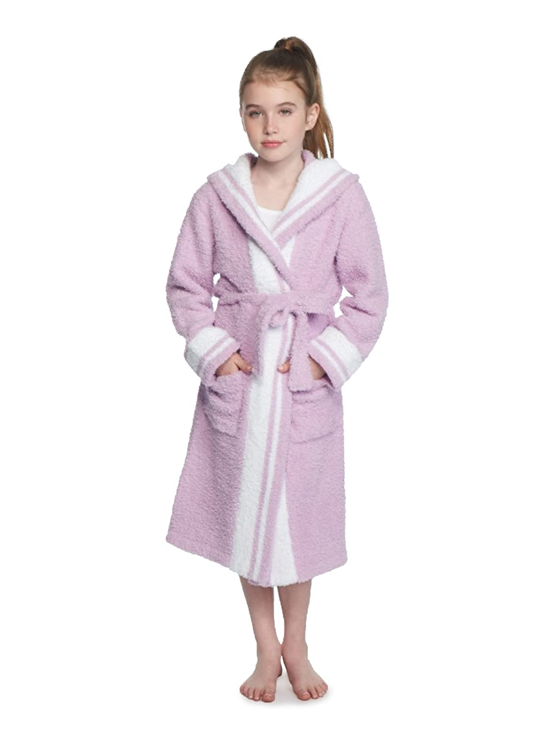 Barefoot Dreams CozyChic Youth Striped Robe B813