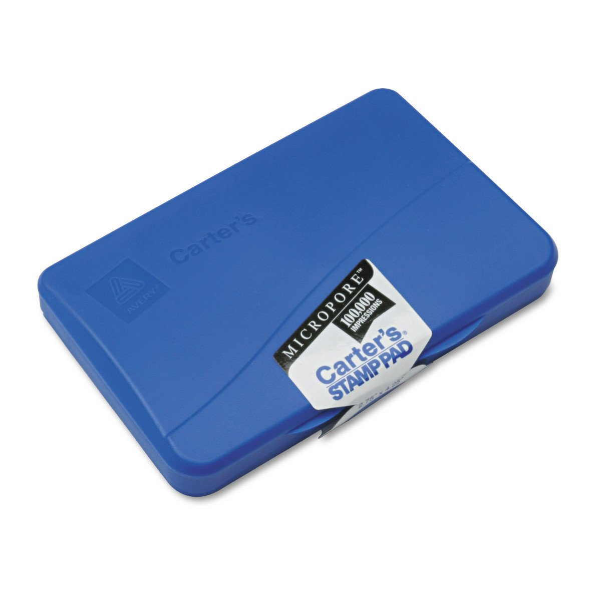Avery Carters Micropore Stamp Pad 21261 2.75 inch x 4.25 inch Blue