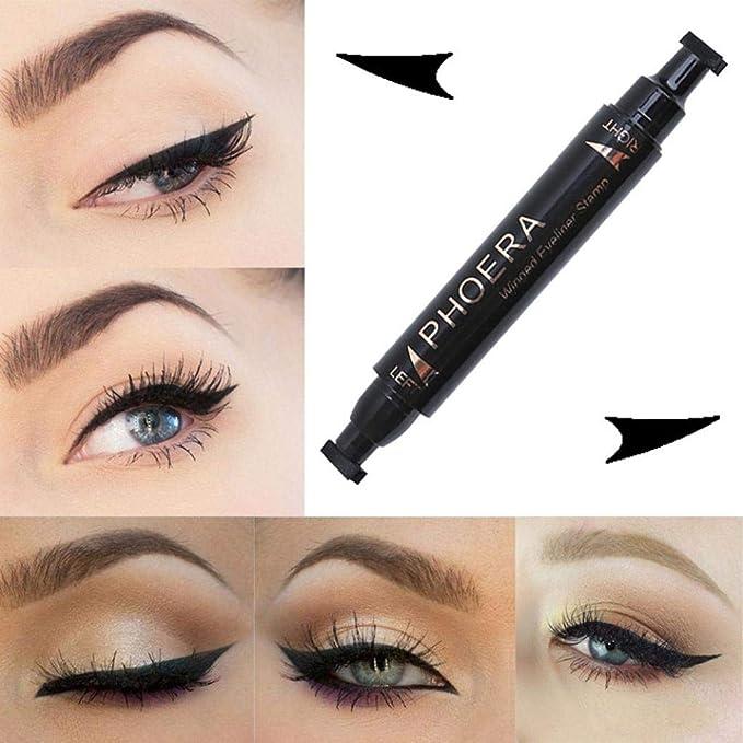 Amazon Umfun Easy To Makeup Waterproof Cat Eye Wing Eyeliner