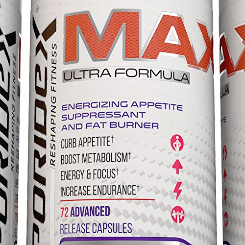 Liporidex MAX Weight Loss Supplements - Best Fat Burner Appetite Suppressant Pills Increase Energy Reduce Belly Fat Control Appetite and Lose Weight Fast - 72 Diet Pills