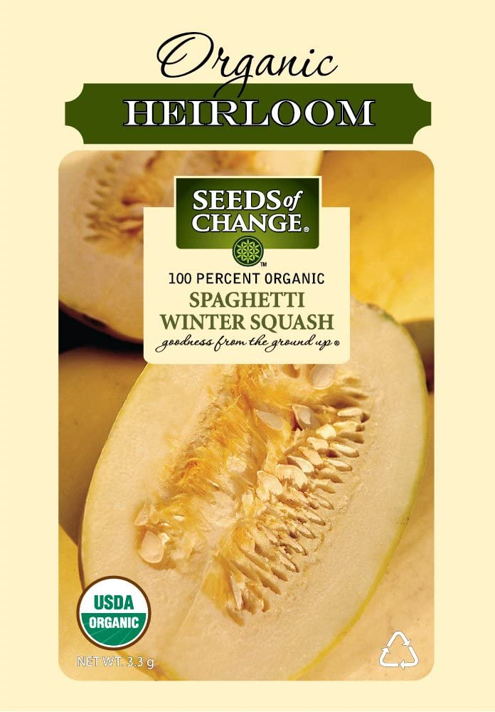 Seeds of Change S10942 Certified Organic Spaghetti Winter Squash