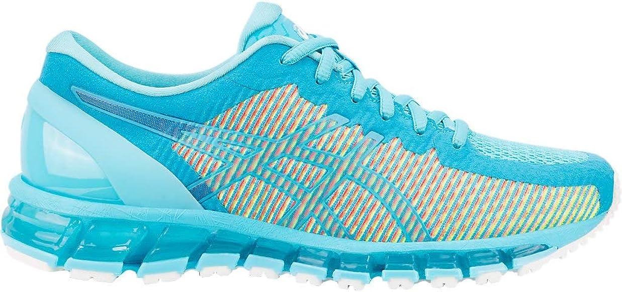 huge discount 23b81 97320 ASICS Women s Gel-Quantum 360 cm Running Shoes, 5M, Island Blue Island