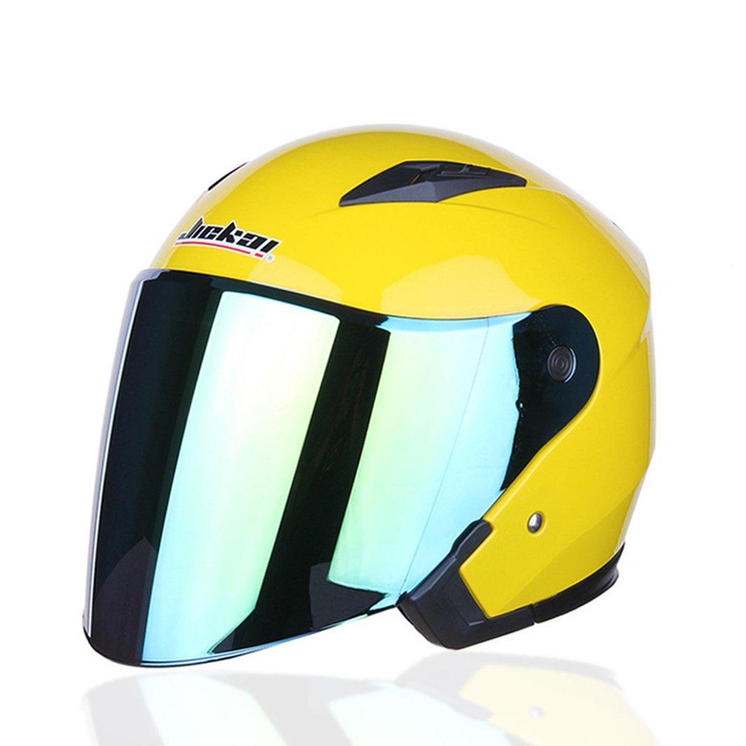 Lidauto Motorradhalbhelme mit Doppelobjektiv E-Bikes Schutz Außerhalb Sport