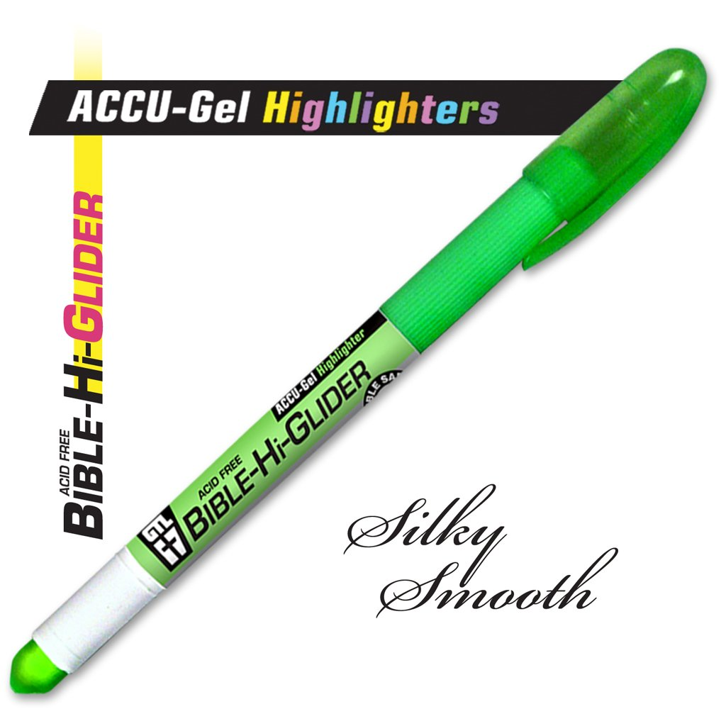 Accu-Gel Bible Highlighter Study Kit (Set of 6) - 4 Sets by G.T. Luscombe Company, Inc. (Image #4)