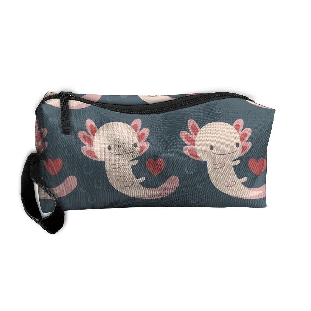 雑誌で紹介された 新しいAxolotls Hearts Travelバッグ Toiletry and Bubblesコスメティックバッグペンシルケースメイクアップオーガナイザー軽量Hanging Toiletry Hearts Travelバッグ B0784PX2V1, OAマウス:2172ae7a --- eastcoastaudiovisual.com
