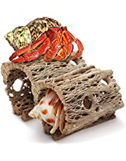"JOR Cholla Cave for Hermit Crabs, 3"" Log, 2 Pcs per Pack"