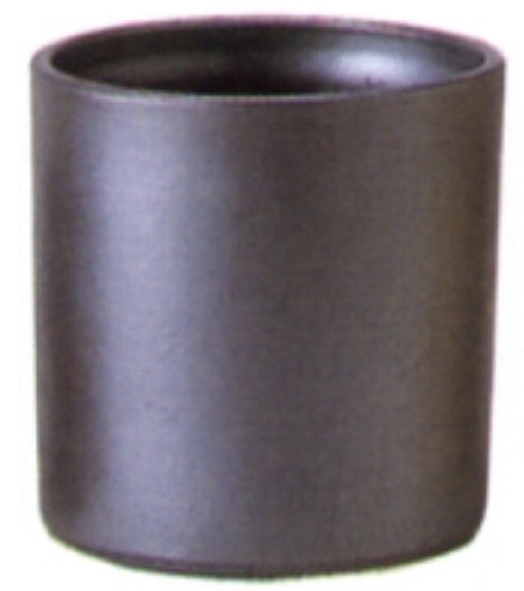 アドミナ 鉢カバー 8号用31cm イブシ【ネグランプリ G-1】 陶器 信楽焼き 穴なし おしゃれ B079YSGVBD 8号|イブシ イブシ 8号