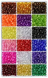 Beadery Bead Extravaganza Bead Box Kit, 19.75-Ounce, All Sparkle