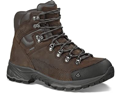 Vasque Men's St. Elias GTX Backpacking Boots & Knit Cap Bundle