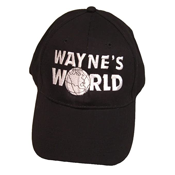 fb9b3990d6cef Image Unavailable. Image not available for. Color  My Party Shirt Wayne s  World Hat Wayne Campbell Baseball Cap Costume Movie Mike Myers 2 SNL