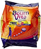 Bournvita Pro-Health Chocolate Drink, 500 gm with Free Pouch - 75 g