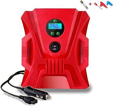 Bomba portable del compresor de aire, mini inflador digital ...