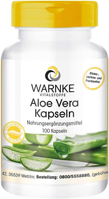 Aloe Vera – Vegano – 100 Cápsulas