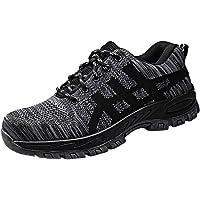 Zapatos Seguridad Hombres Verano,Calzado De Acero De Trabajo