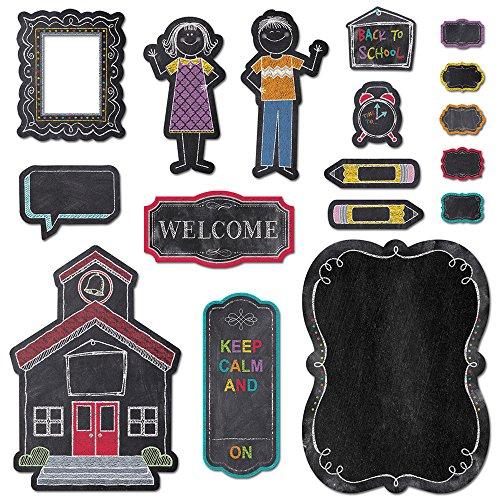 Creative Teaching Press Bulletin Board, Schoolhouse Charm (4727) (Board Bulletin Set Schoolhouse)