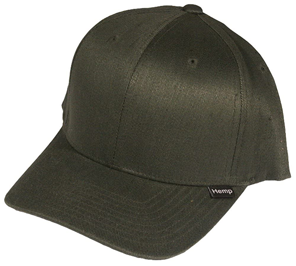 Hemptopia Men s Brown Hemp Cap in Small Medium Flexfit Size at Amazon Men s  Clothing store  a770c57443fe