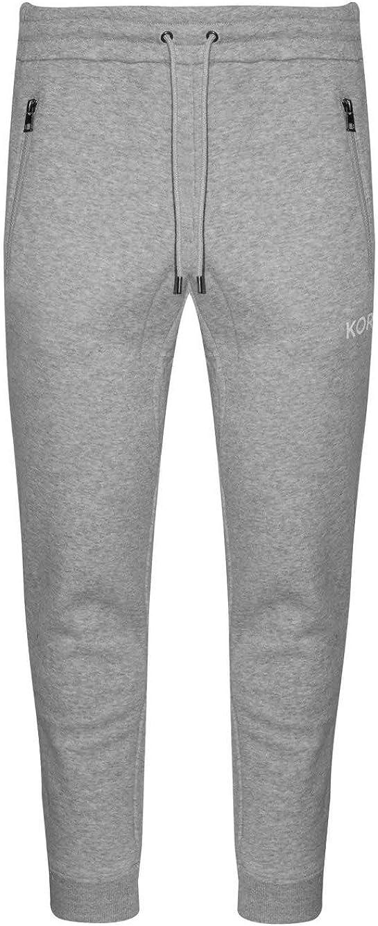 Michael Kors Terry - Pantalón de chándal Ajustado, Color Gris Gris ...
