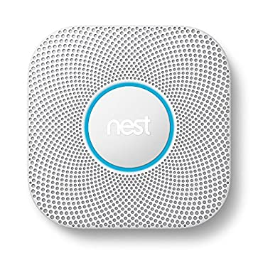 Nest Protect Smoke & Carbon Monoxide Alarm, Battery, 2nd Gen (S3000BWES)
