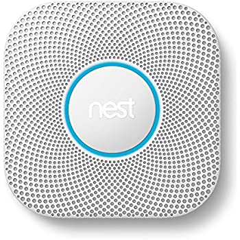 Nest S3000BWES Nest Protect 2nd Gen Smoke + Carbon Monoxide Alarm, Battery (Battery)