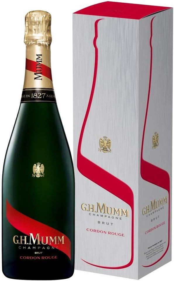 Mumm Cordon Rouge Brut Champagne - 750 ml: Amazon.es: Alimentación y bebidas