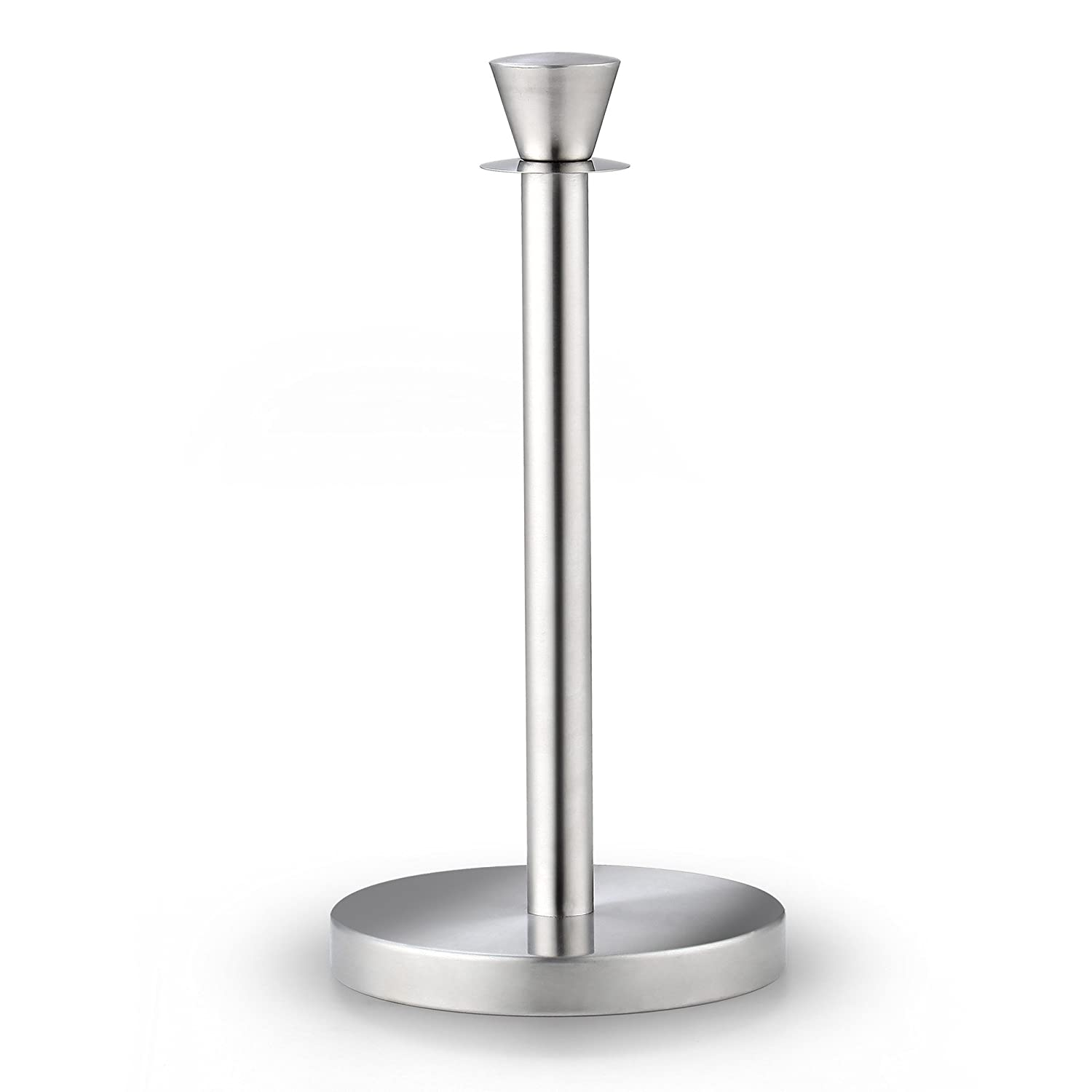 Cook N Home 02531 Stainless Steel Standing Paper Towel Holder, Jumbo, Silver